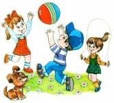 Свежий воздух и подвижные игры – большая польза для детского здоровья!