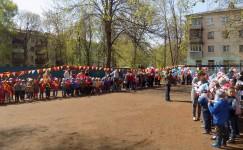Мини парад, посвещенный 70-и летию Великой Победы!
